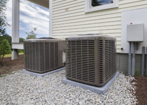 Air conditioner in Clackamas, Oregon, that was serviced by Central Air